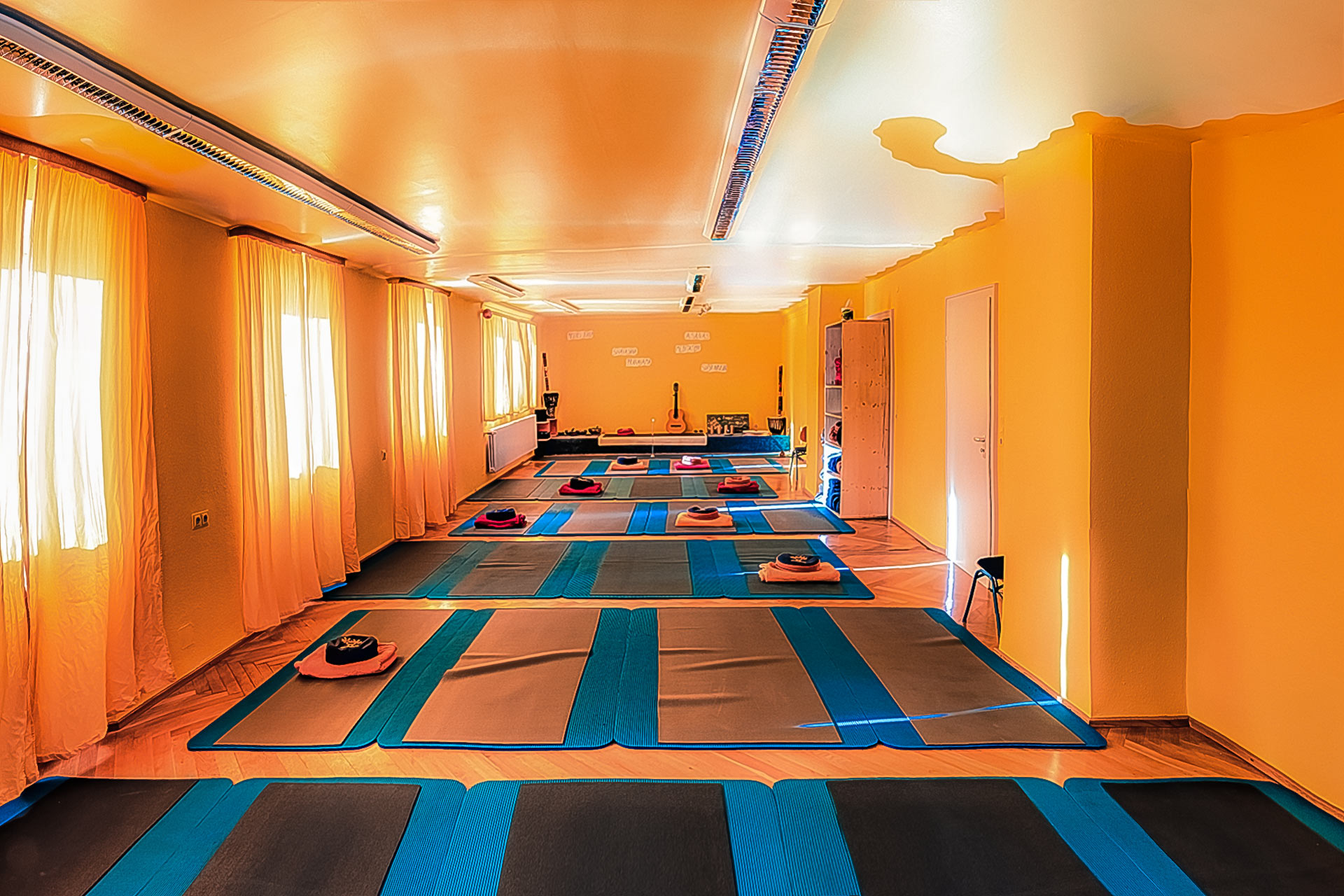 Yoga Übungsraum