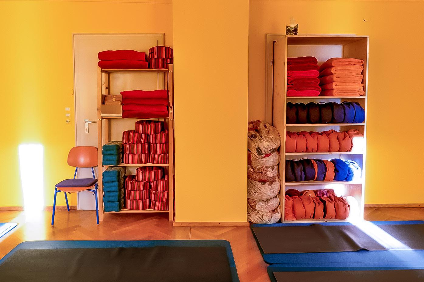 Yogakissen, Yogadecken & Yogamatten