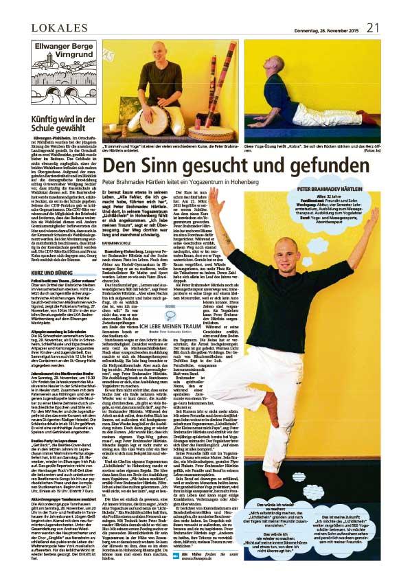 lichtlaecheln_yogazentrum_presse_artikel_aalen_ellwangen_2015-11-26